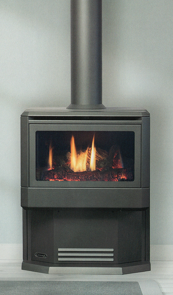 Coonara Mystique Console Gas Log Fire